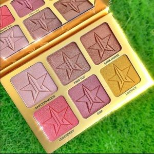 24k gold palette from Jeffree Star